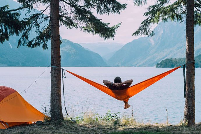 hammock ridgeline organizer
