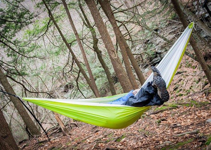 hammock ridgeline setup